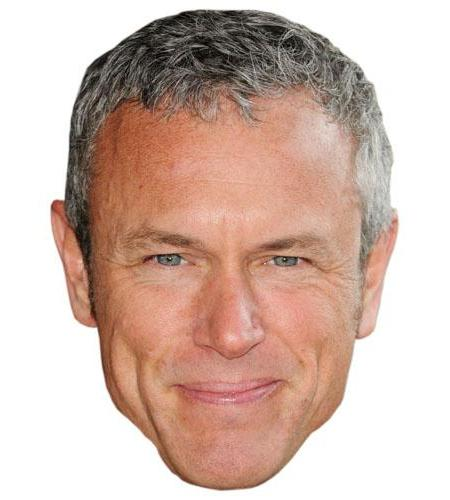 A Cardboard Celebrity Big Head of Mark Foster