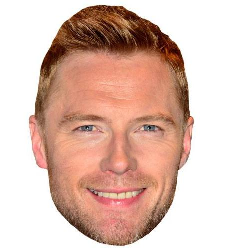 A Cardboard Celebrity Ronan Keating Big Head