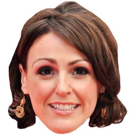 A Cardboard Celebrity Suranne Jones Big Head