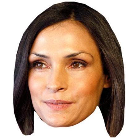 A Cardboard Celebrity Famke Janssen Big Head