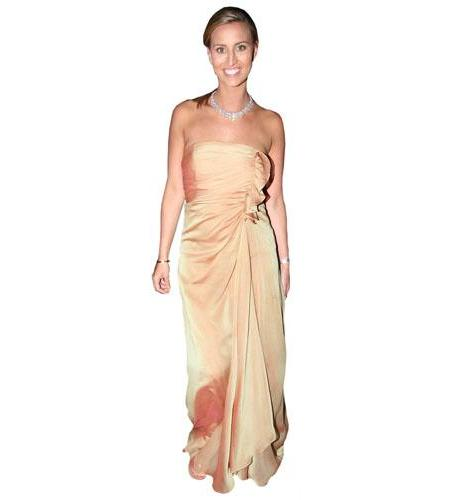 Ferne McCann Dress Cardboard Cutout