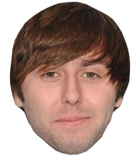 A Cardboard Celebrity Henry James Buckley Big Head