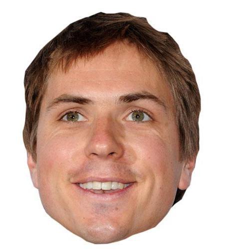 A Cardboard Celebrity Joe Thomas Big Head