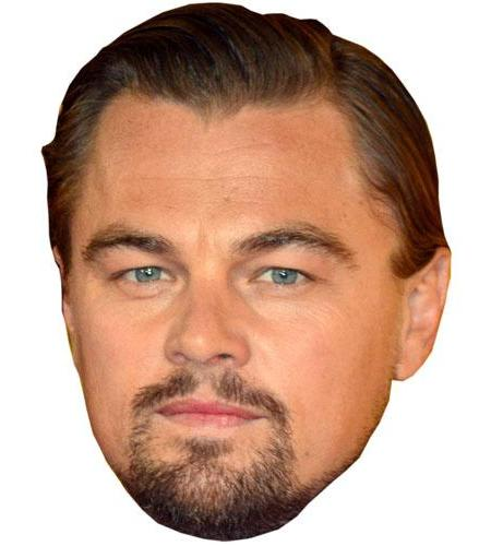 A Cardboard Celebrity Leonardo Di Caprio Big Head