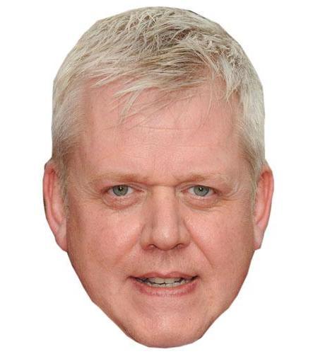 A Cardboard Celebrity Martin Trenaman Big Head