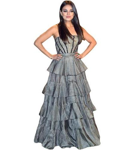 Mila Kunis Gown Cutout