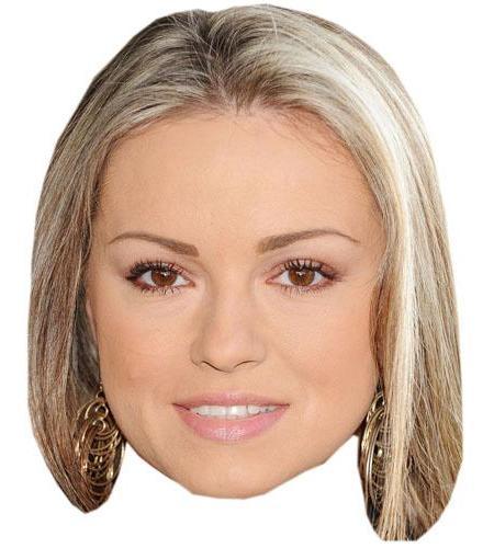 A Cardboard Celebrity Ola Jordan Big Head