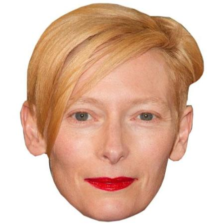 A Cardboard Celebrity Tilda Swinton Big Head
