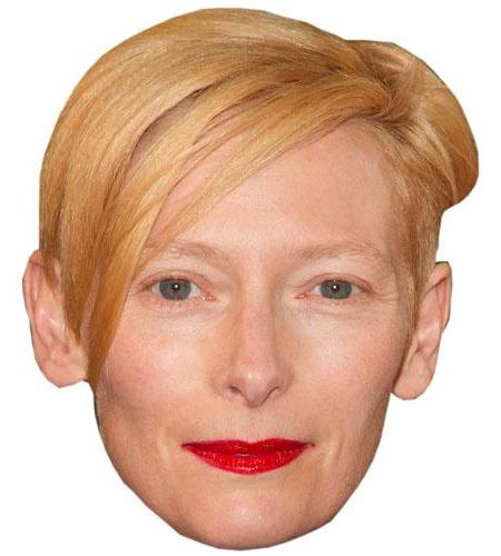 A Cardboard Celebrity Tilda Swinton Big Head