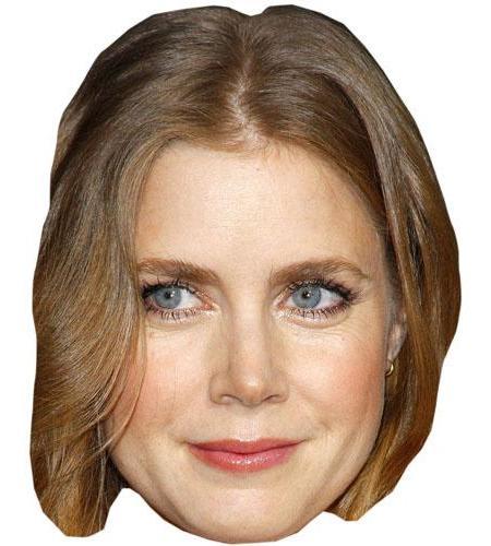 A Cardboard Celebrity Big Head of Amy Adams