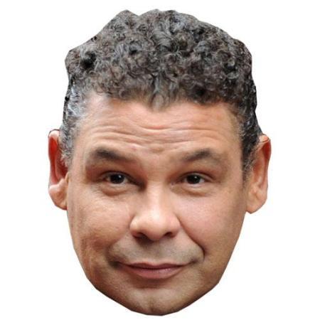ACardboard Celebrity Big Head of Craig Charles