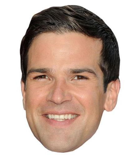 A Cardboard Celebrity Big Head of Gethin Jones