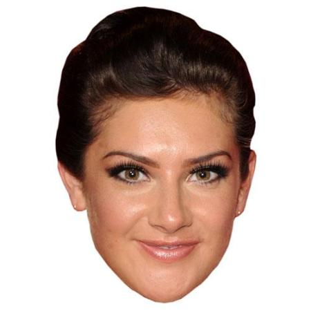 A Cardboard Celebrity Big Head of Isabel Hodgins