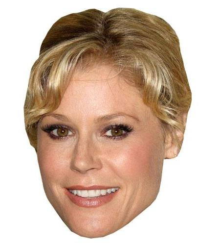 A Cardboard Celebrity Big Head of Julie Bowen