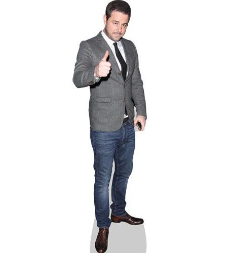 A Lifesize Cardboard Cutout of Danny Dyer wearing jeans