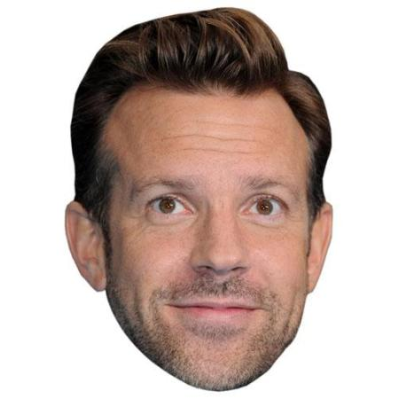 A Cardboard Celebrity Big Head of Jason Sudeikis