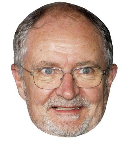 A Cardboard Celebrity Big Head of Jim Broadbent