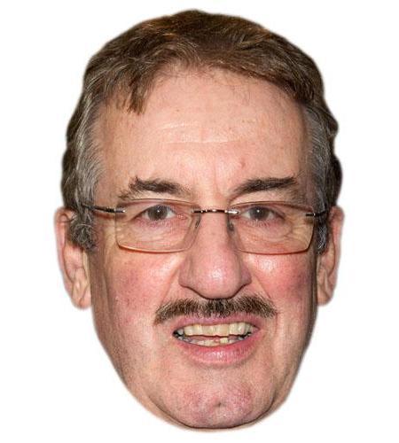 A Cardboard Celebrity Big Head of John Challis