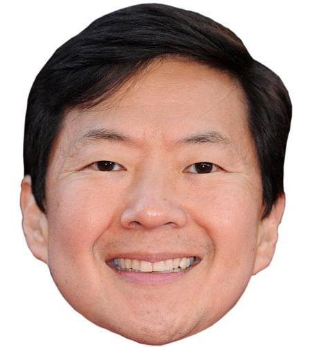 A Cardboard Celebrity Big Head of Ken Jeong