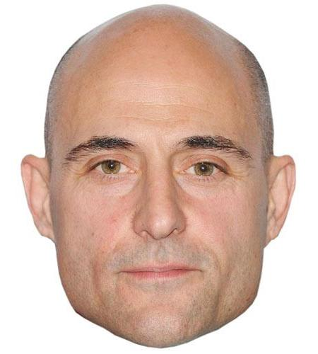 A Cardboard Celebrity Big Head of Mark Strong