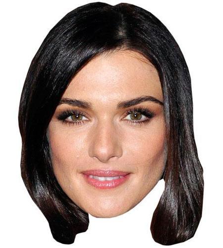 A Cardboard Celebrity Big Head of Rachel Weisz