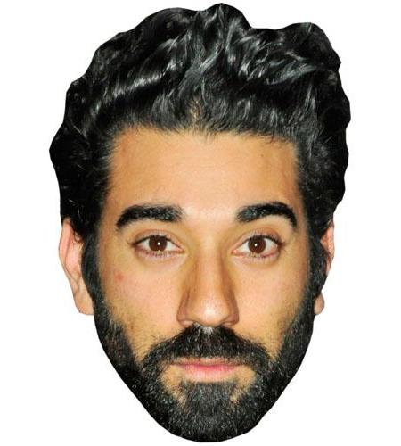 A Cardboard Celebrity Big Head of Ray Panthaki