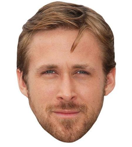 A Cardboard Celebrity Big Head of Ryan Gosling