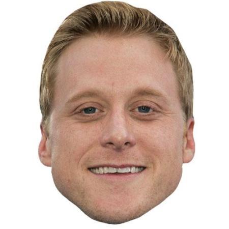 A Cardboard Celebrity Big Head of Alan Tudyk