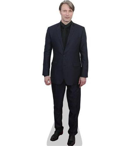 Mads Mikkelsen Cardboard Cutout wearing a suit