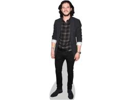 Kit Harrington Cardboard Cutout wearing a shirt