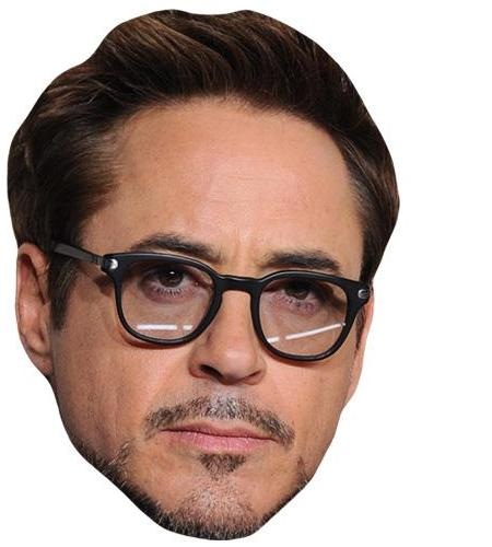 A Cardboard Celebrity Big Head of Robert Downey Jr