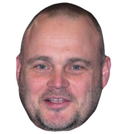 A Cardboard Celebrity Big Head of Al Murray