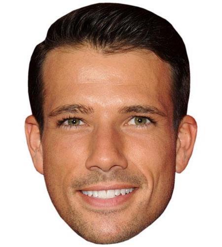 A Cardboard Celebrity Mask of Danny Mac
