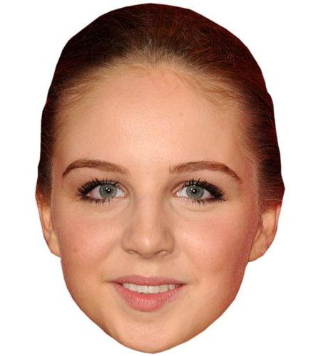 A Cardboard Celebrity Big Head of Eden Taylor-Draper