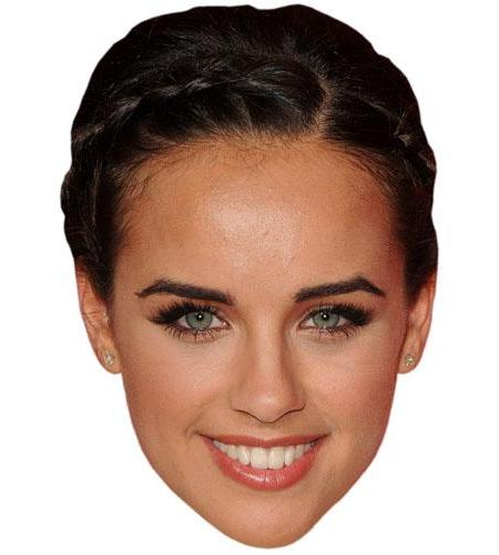 A Cardboard Celebrity Big Head of Gerogia May Foote