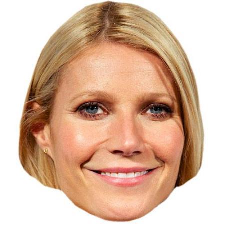 A Cardboard Celebrity Big Head of Gwyneth Paltrow