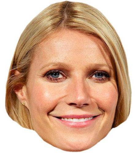 A Cardboard Celebrity Big Head of Gwyneth Paltrow