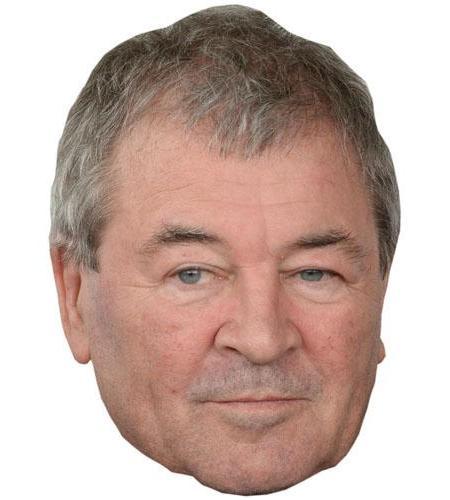 A Cardboard Celebrity Big Head of Ian Gillan