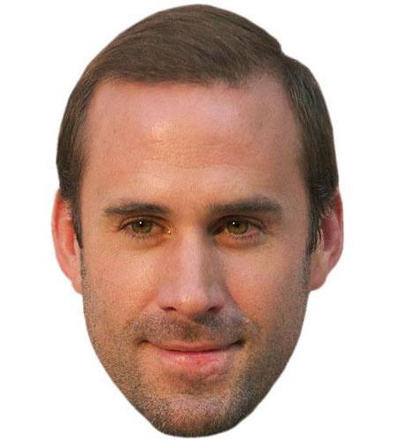 A Cardboard Celebrity Big Head of Joseph Fiennes