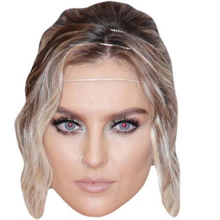 A Cardboard Celebrity Big Head of Perrie Edwards