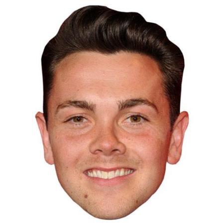 A Cardboard Celebrity Big Head of Ray Quinn
