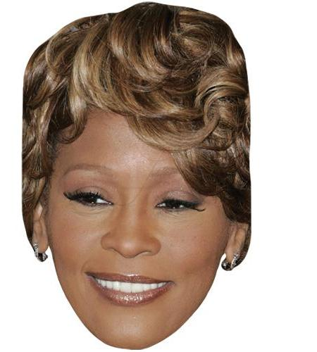 A Cardboard Celebrity Big Head of Whitney Houston (Modern)