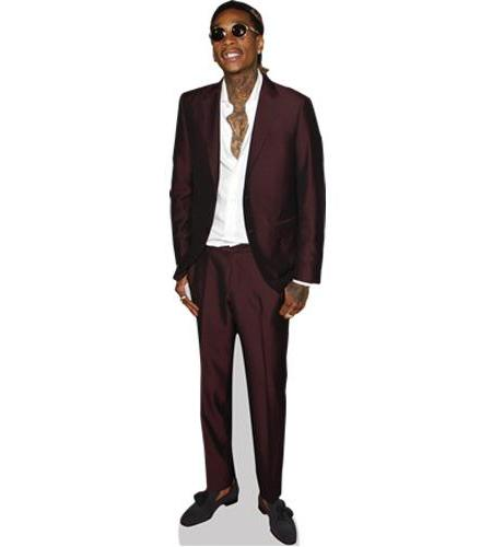 dad2aa316423 Wiz Khalifa Cardboard Cutout. Life-sized and Mini Cutouts.