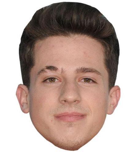 ACardboard Celebrity Mask of Charlie Puth