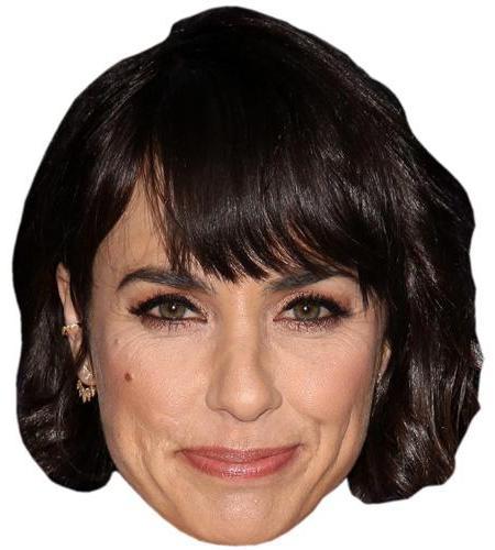 A Cardboard Celebrity Big Head of Constance Zimmer