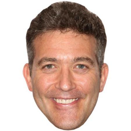 A Cardboard Celebrity Big Head of Craig Bierko