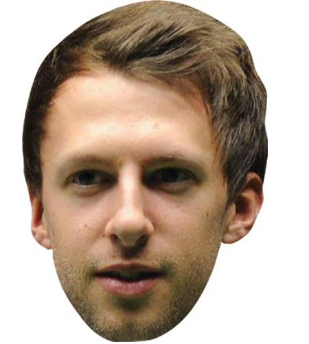 A Cardboard Celebrity Big Head of Judd Trump