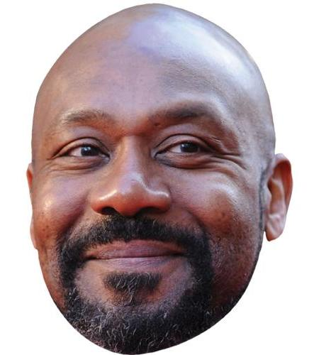 A Cardboard Celebrity Big Head of Lenny Henry