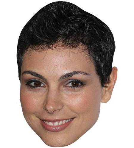 A Cardboard Celebrity Big Head of Morena Baccarin