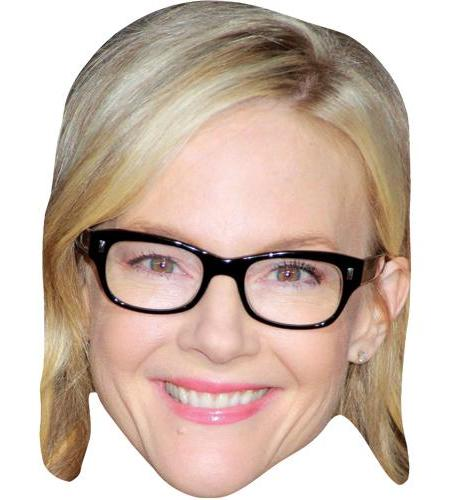 ACardboard Celebrity Big Head of Rachael Harris